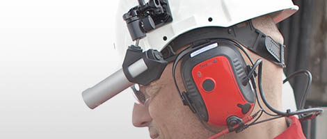 Wireless mobile video conferencing tools for hazardous environments